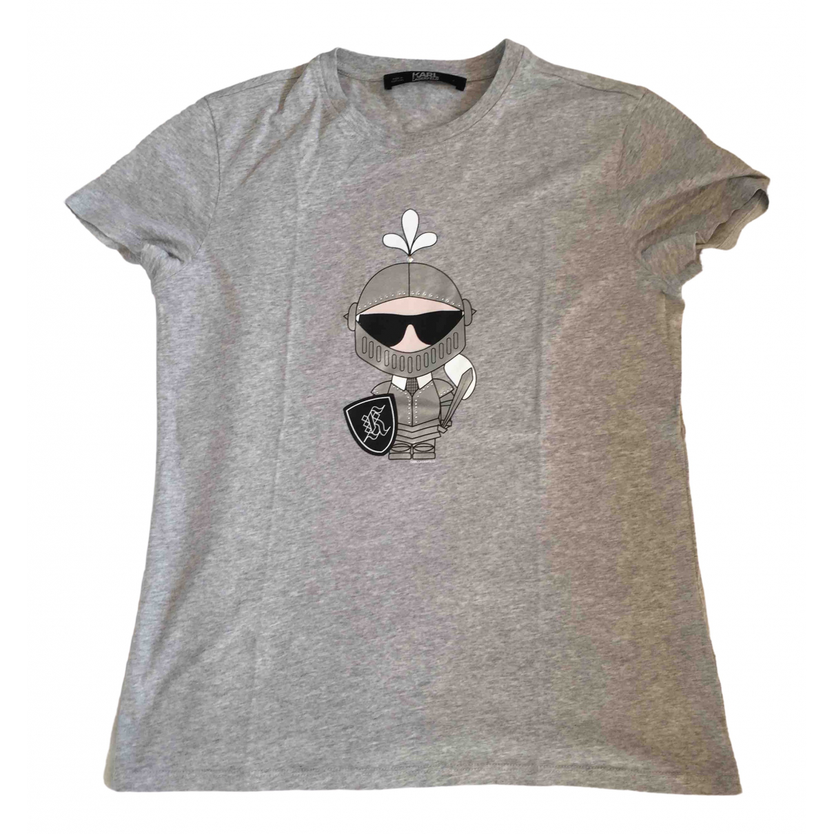Karl \N Grey Cotton  top for Women S International