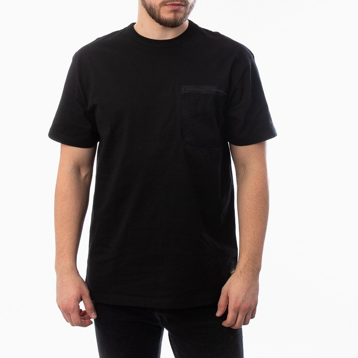 Carhartt WIP S/S Military Mesh Pocket T-Shirt I027729 BLACK