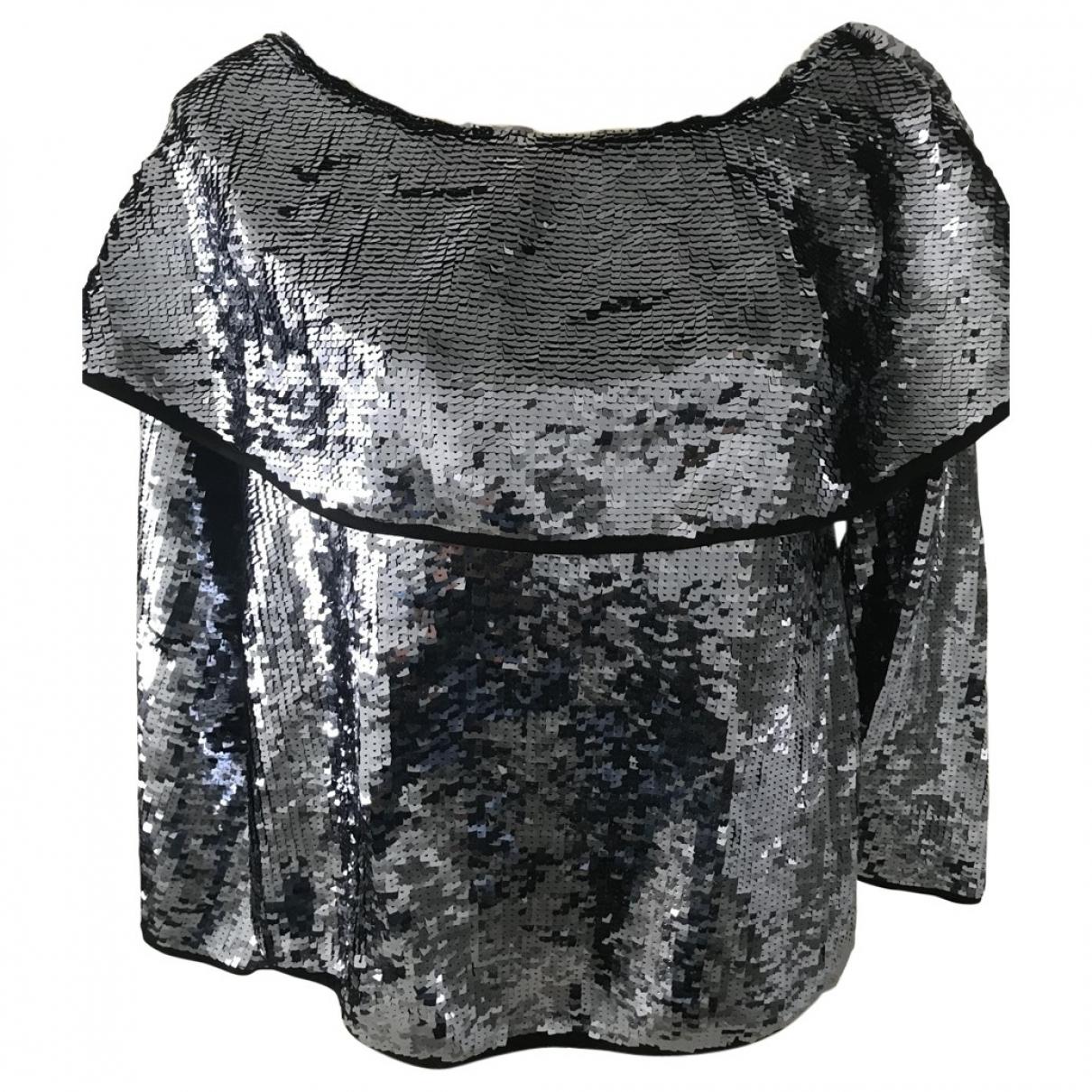 Blusa de Con lentejuelas Zara