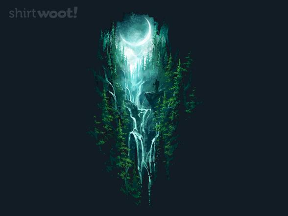 Wandering Waterfalls T Shirt