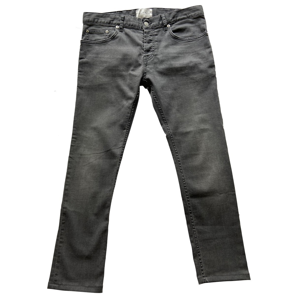 Sandro Fall Winter 2019 Grey Cotton - elasthane Jeans for Men 32 US