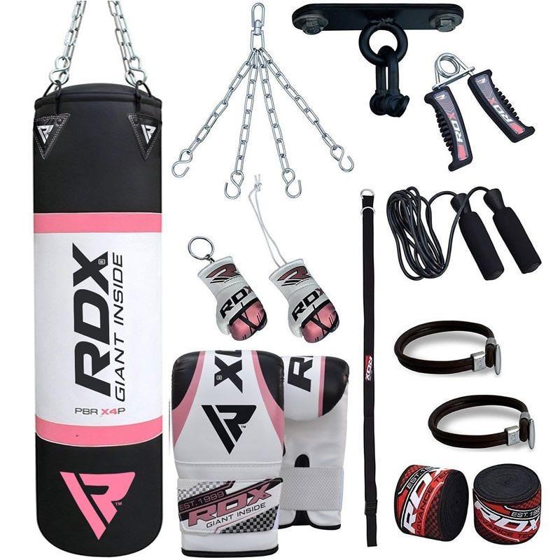 RDX X2 13pc 4ft Sac de Frappe Set Pour Femmes Gym a domicile
