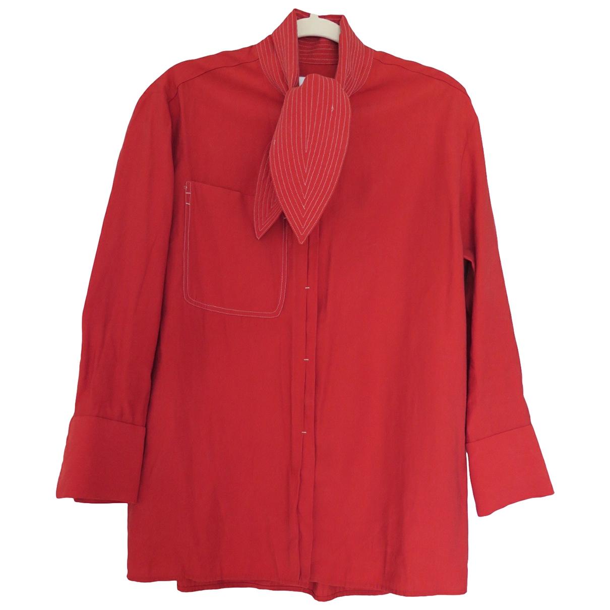Mango \N Red Cotton  top for Women S International