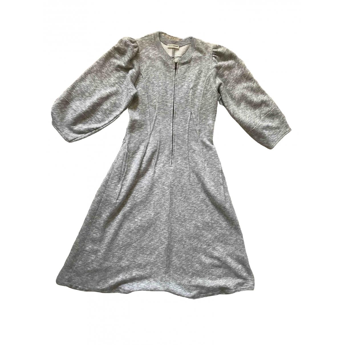 Ulla Johnson \N Grey Cotton dress for Women M International