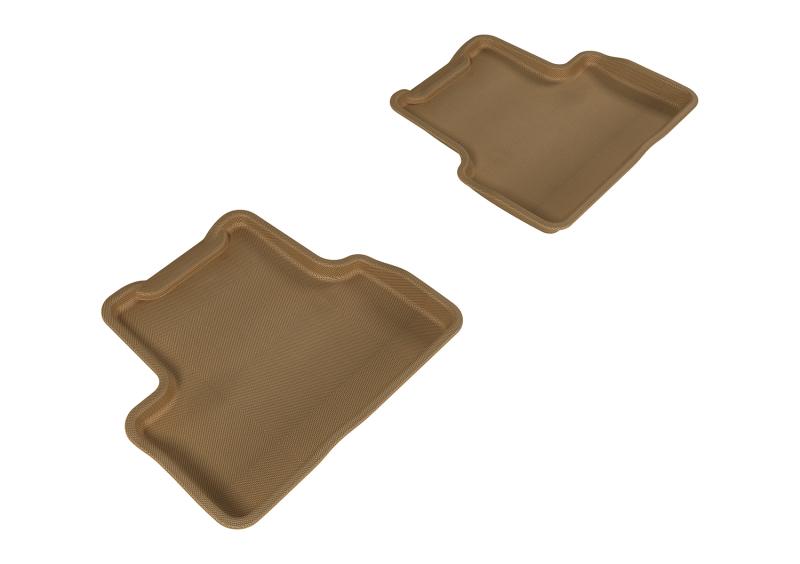 3D MAXpider 2011-2015 Chevrolet Cruze/Cruze Limited Kagu 2nd Row Floormats - Tan