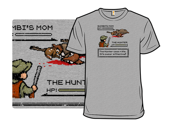 The Rifle Is Super Effective! T Shirt