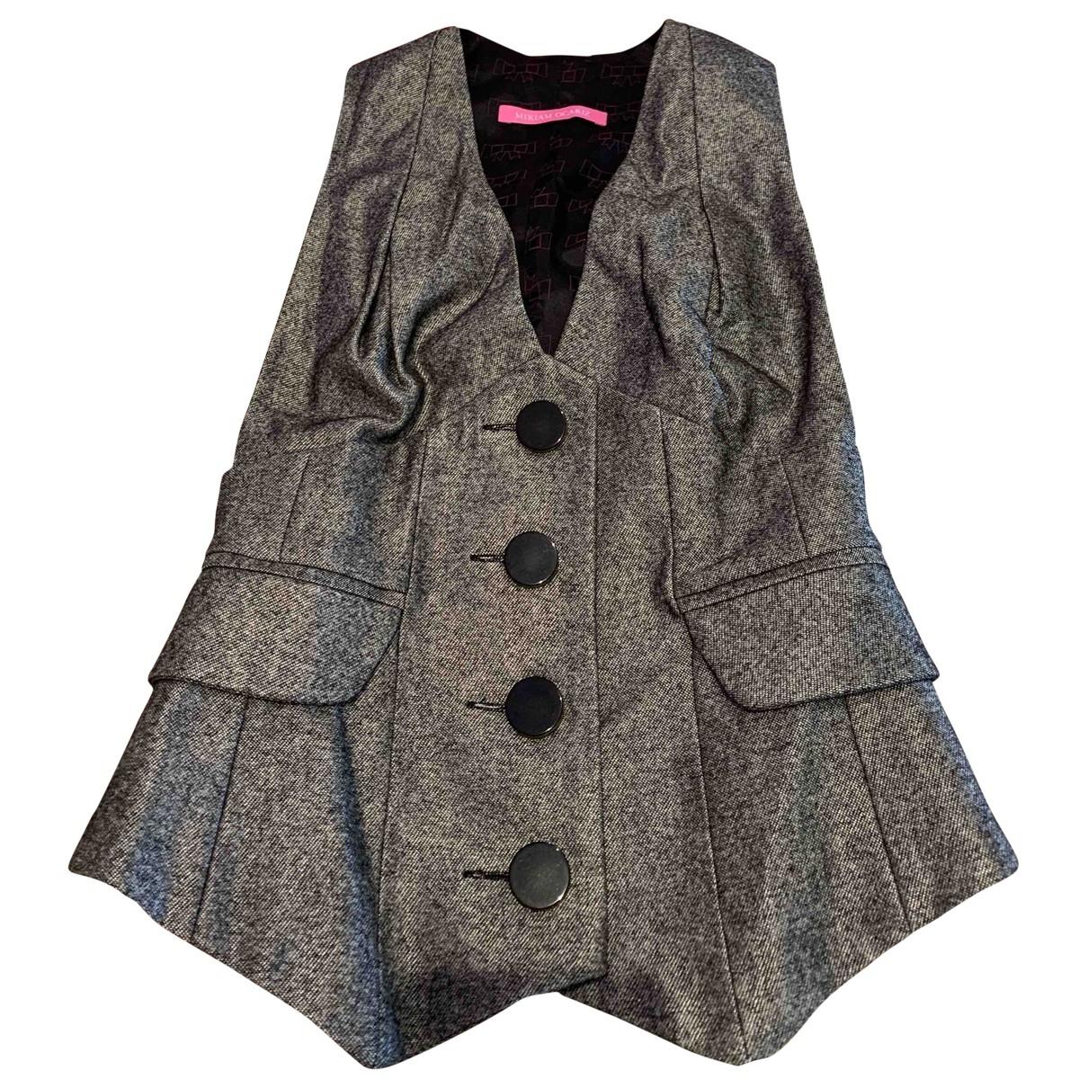 Miriam Ocariz - Veste   pour femme en coton - gris