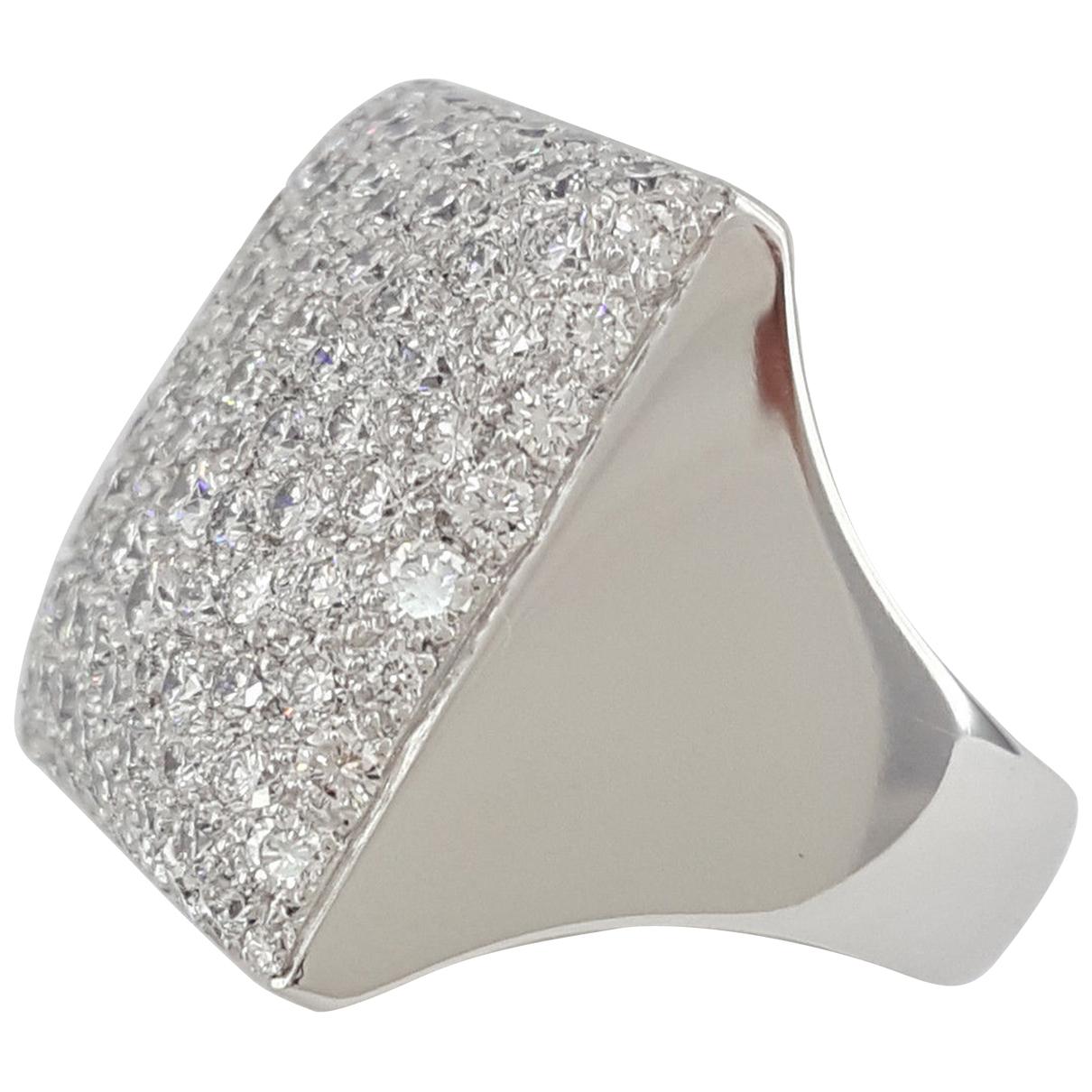 Cartier - Bague   pour femme en or blanc - blanc