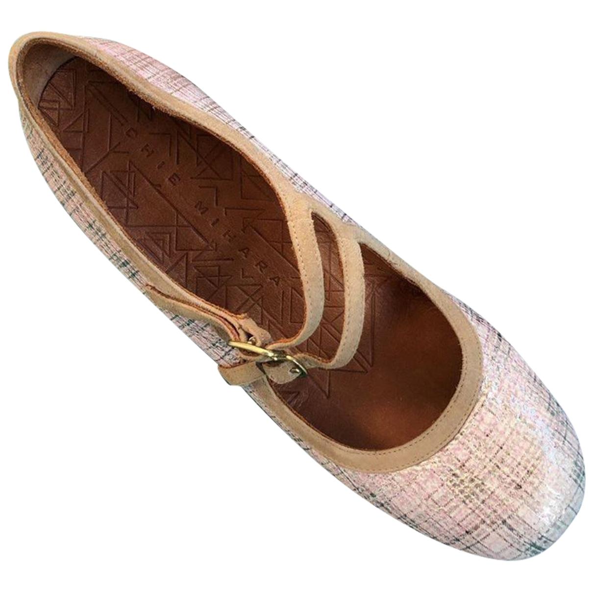 Chie Mihara \N Metallic Leather Heels for Women 39.5 EU