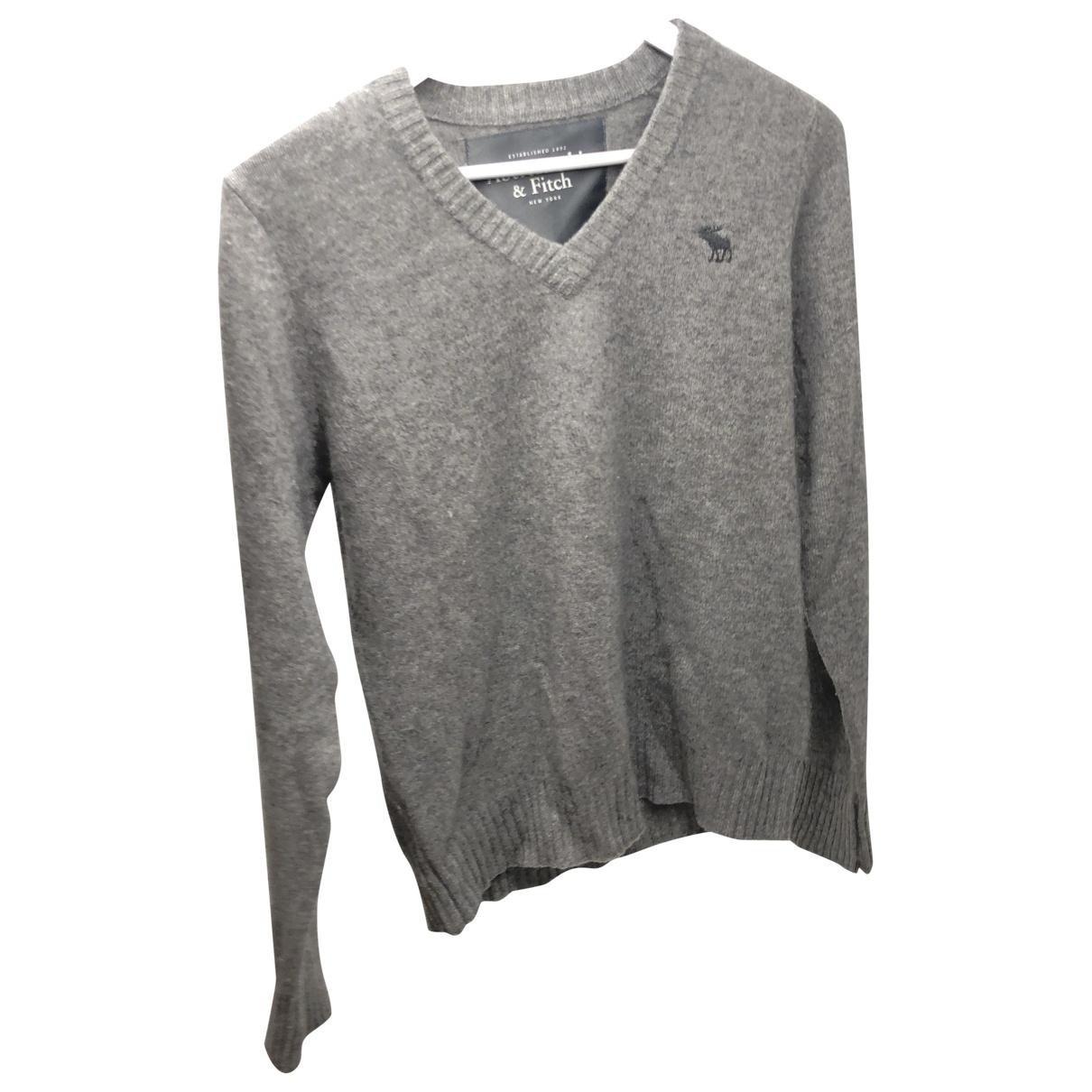 Abercrombie & Fitch \N Pullover.Westen.Sweatshirts  in  Grau Kaschmir