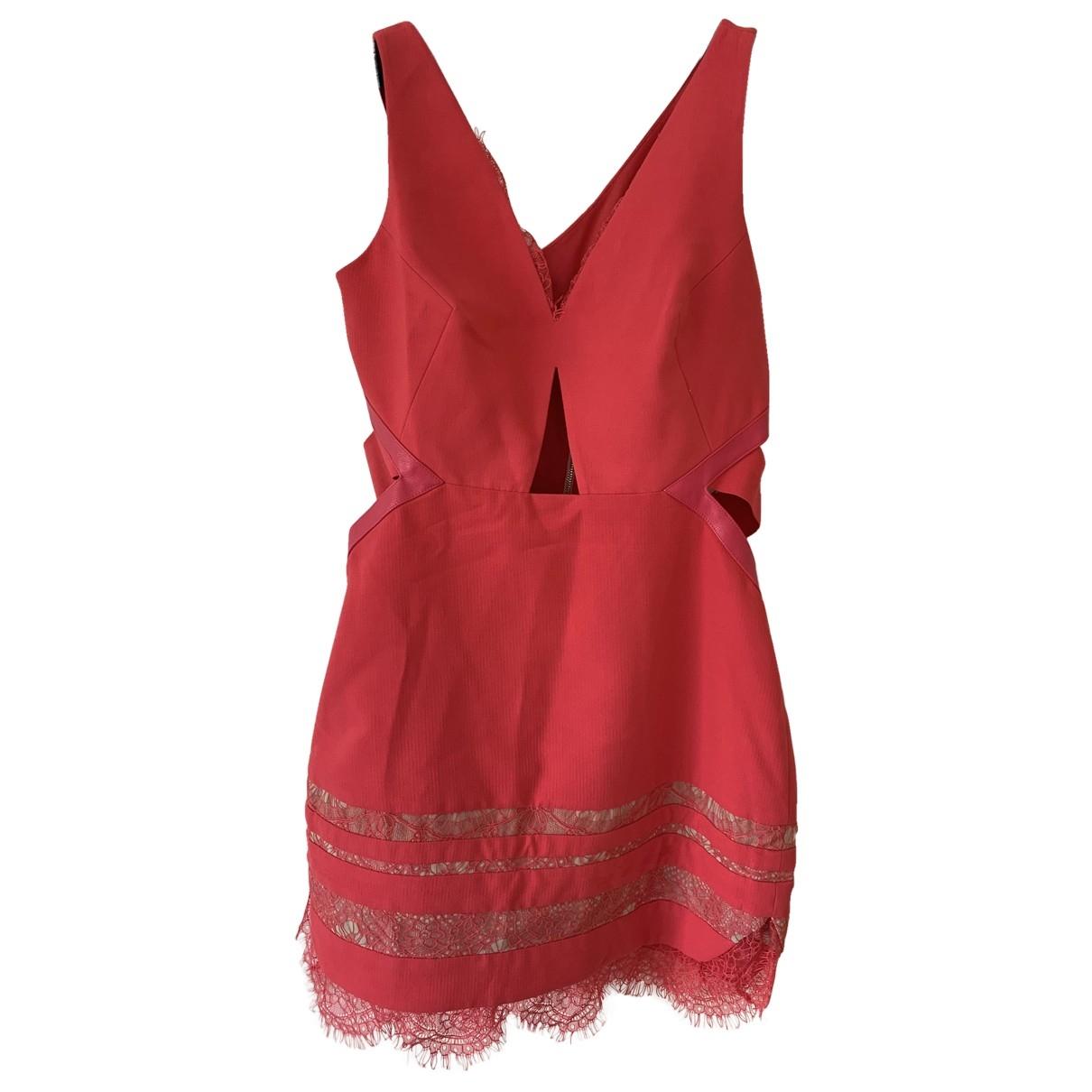 Three Floor Fashion \N Kleid in  Rosa Polyester
