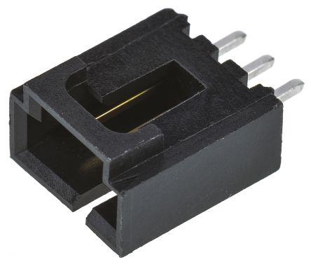 Molex , SL, 70543, 3 Way, 1 Row, Straight PCB Header (10)