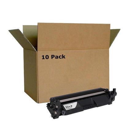 Compatible HP 30A CF230A cartouche de toner noire - boite economique - 10/paquet