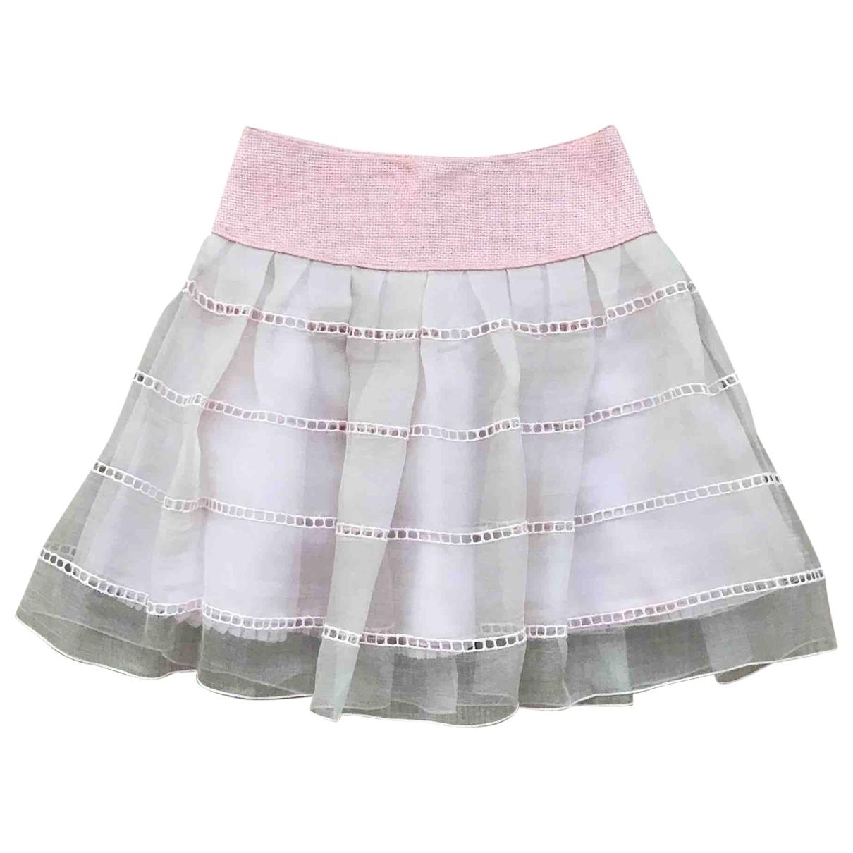 I Pinco Pallino - Jupe   pour enfant en soie - rose