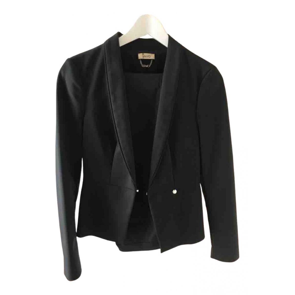 Liu.jo - Veste   pour femme en coton - noir