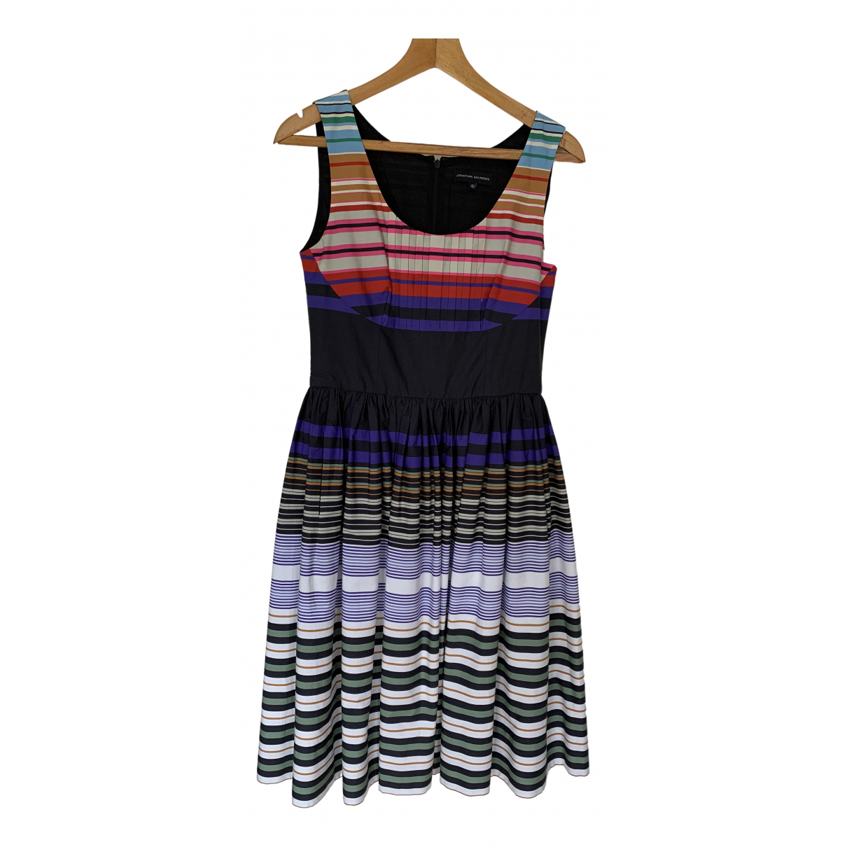 Jonathan Saunders \N Multicolour Cotton dress for Women 40 IT