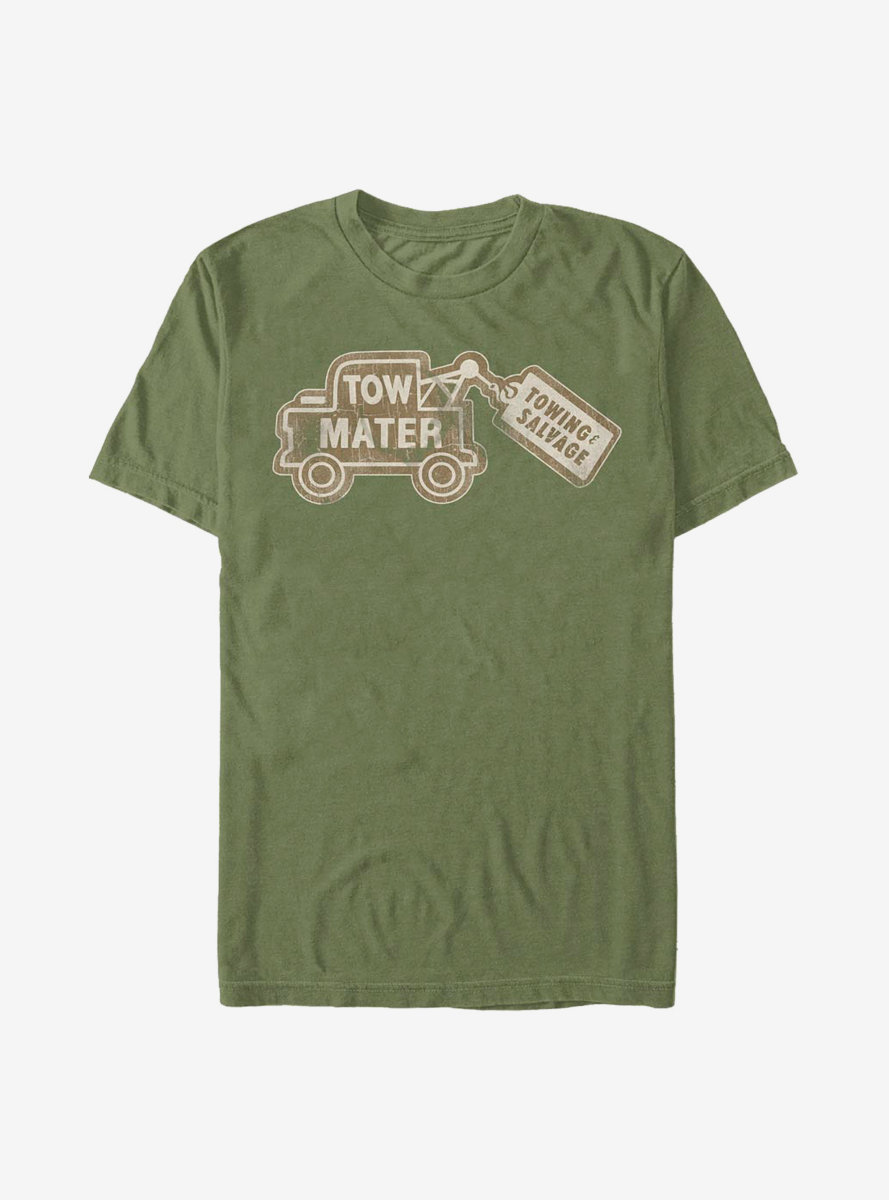Disney Pixar Cars Tow Mater Card T-Shirt