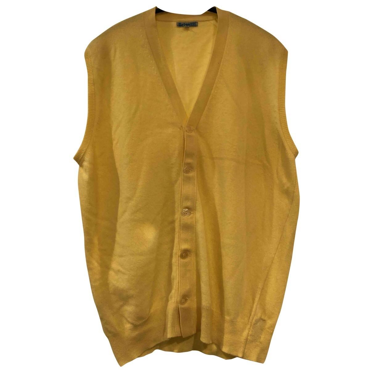 Drumohr \N Yellow Wool Knitwear & Sweatshirts for Men 42 UK - US