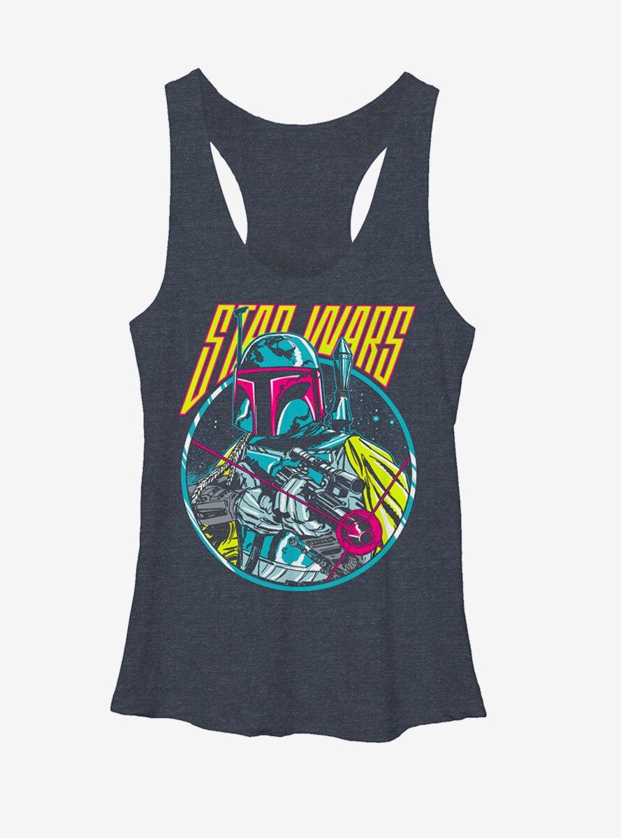 Star Wars Boba Fett Blaster Womens Tank
