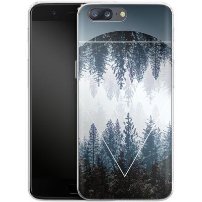 OnePlus 5 Silikon Handyhuelle - Woods 4 von Mareike Bohmer