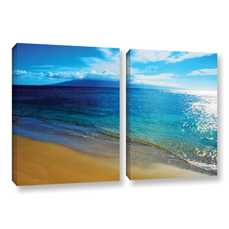 Brushstone Quiet Place 2-pc. Gallery Wrapped Canvas Wall Art, One Size , Green
