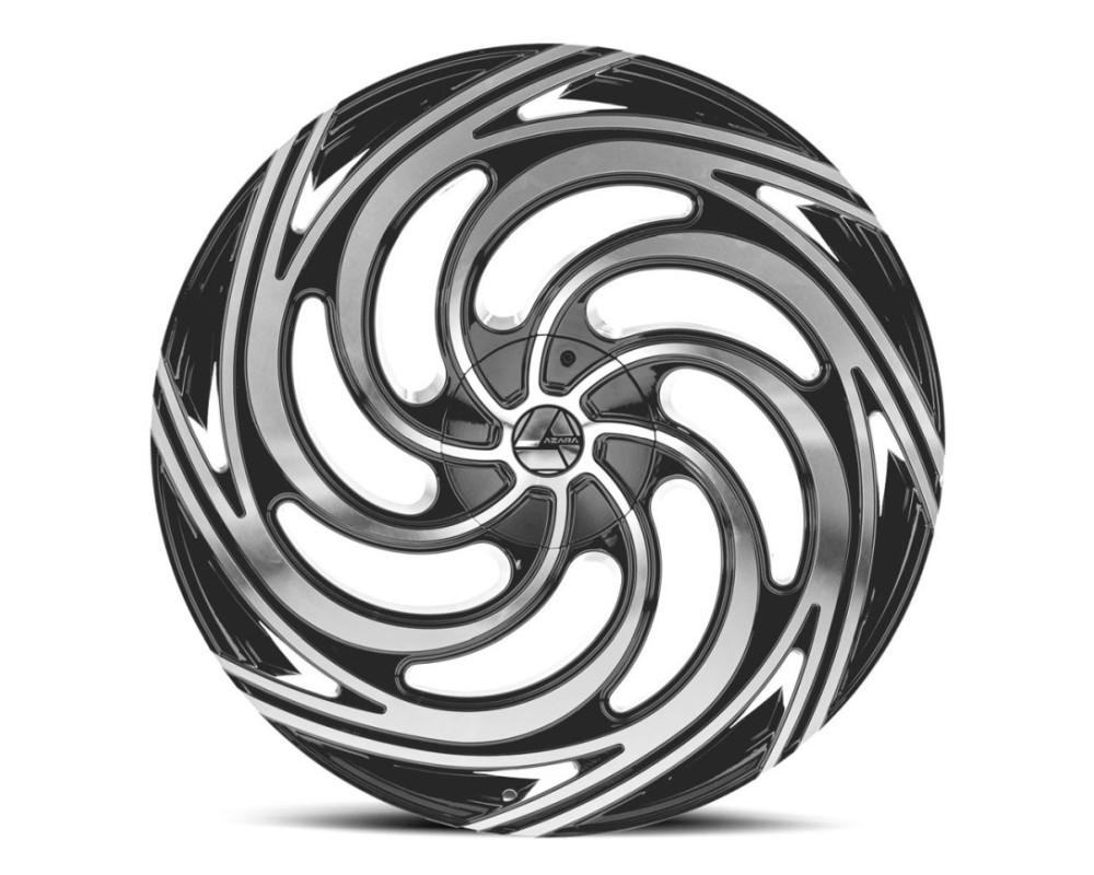 Azara 519 Wheel 30x9.5 Blank 15mm Gloss Black Machined