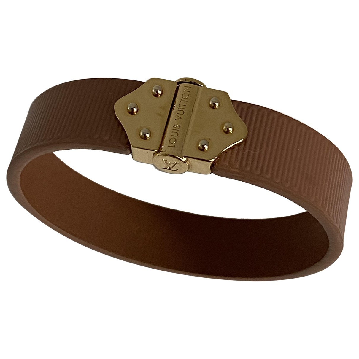 Louis Vuitton \N Brown Leather bracelet for Women \N