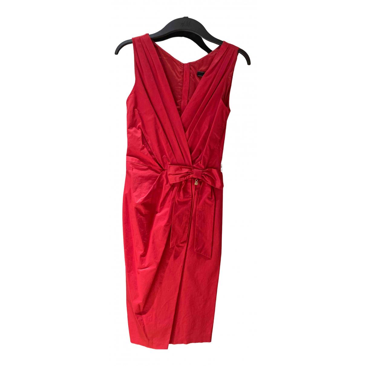 Elisabetta Franchi N Pink Cotton dress for Women 38 IT