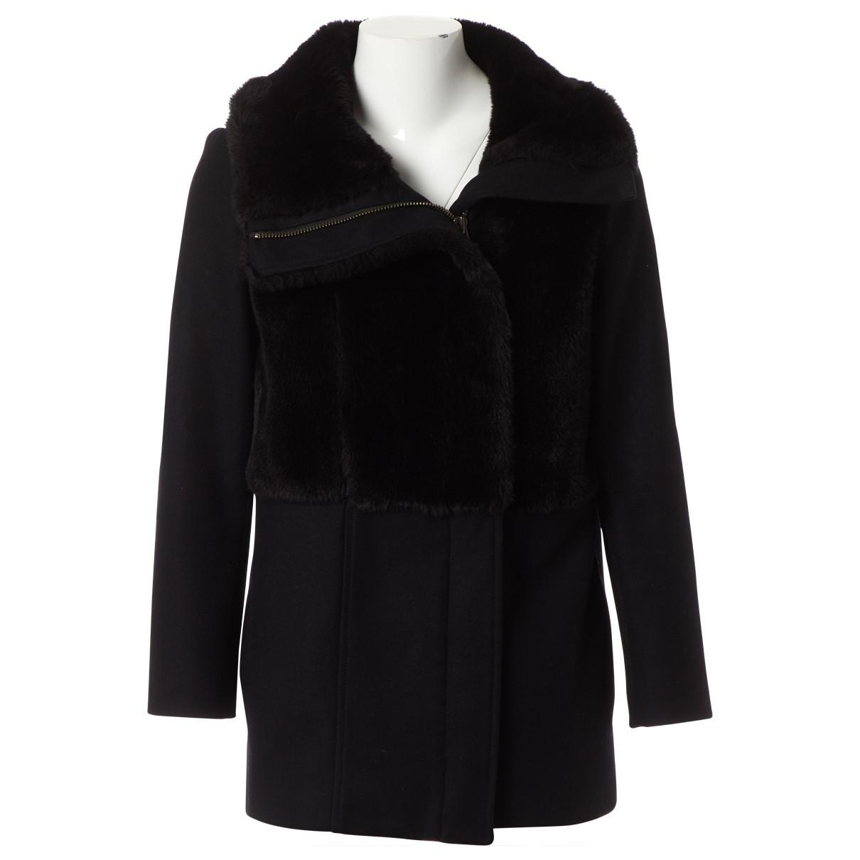 The Kooples - Veste   pour femme en laine - noir
