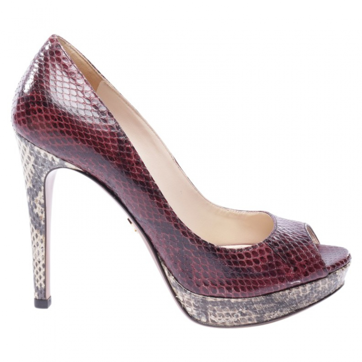 Prada \N Multicolour Leather Heels for Women 36.5 EU