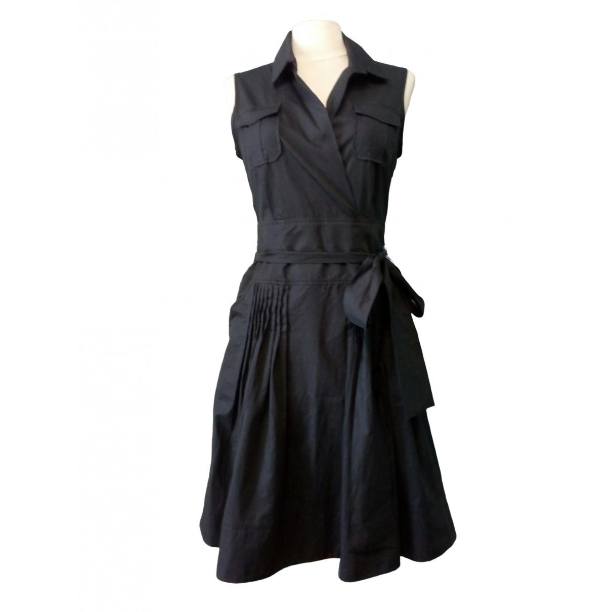 Georges Rech \N Kleid in  Schwarz Baumwolle