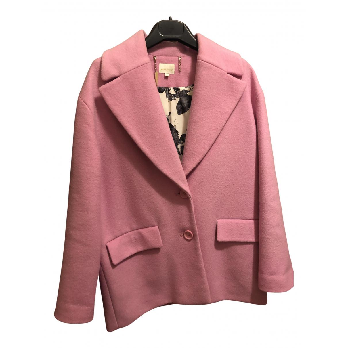 - Veste   pour femme en laine - rose