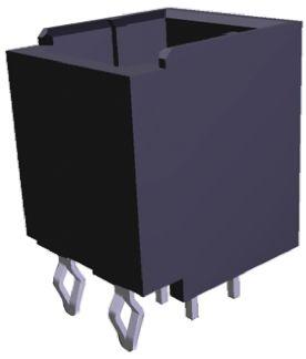 TE Connectivity , Dynamic 1000, 6 Way, 2 Row, Straight PCB Header