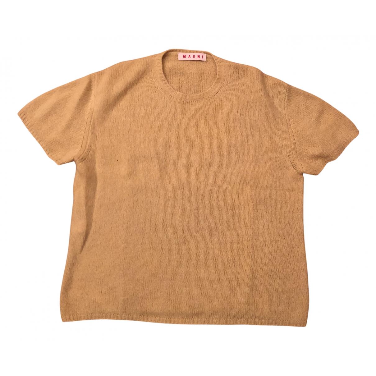 Marni \N Pullover.Westen.Sweatshirts  in  Gelb Wolle