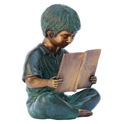 MP97527 Story Book Boy Bronze