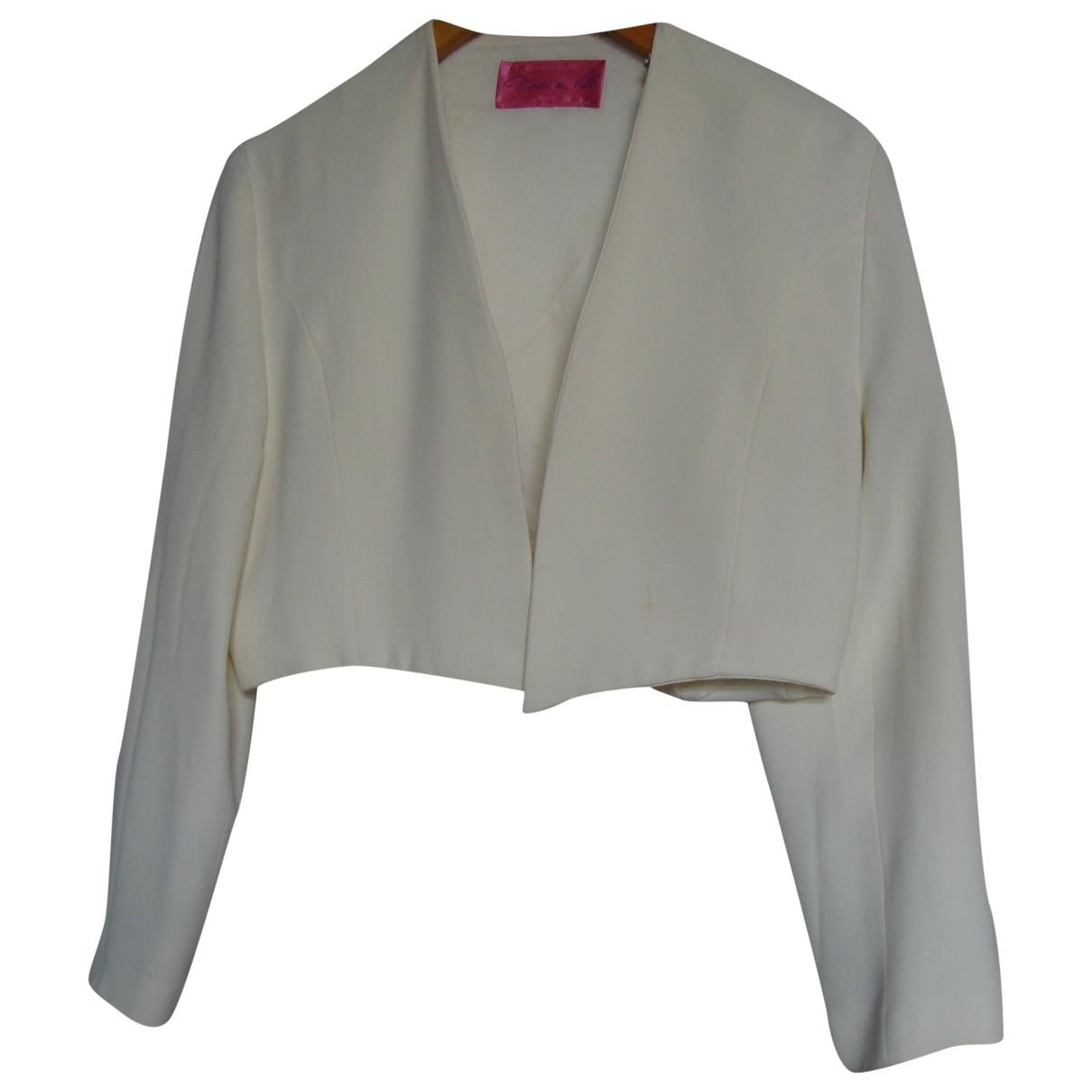 - Veste   pour femme - blanc