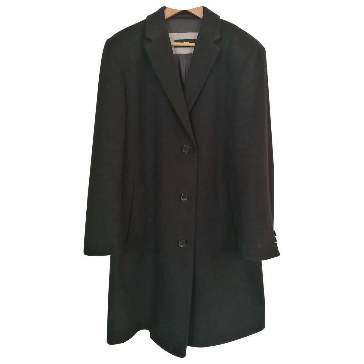 Boss - Manteau   pour homme en cachemire - noir