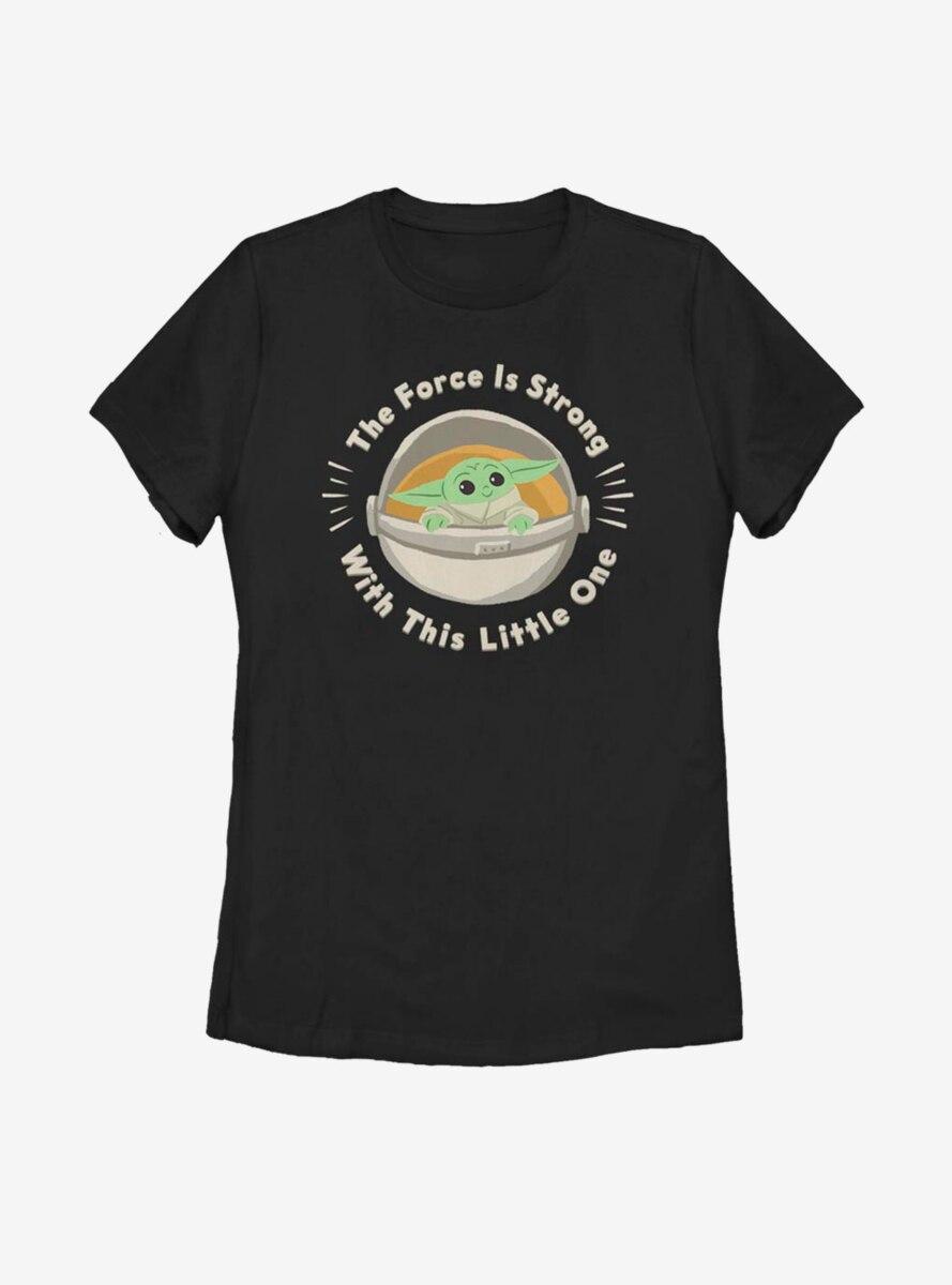 Star Wars The Mandalorian The Child Little One Womens T-Shirt