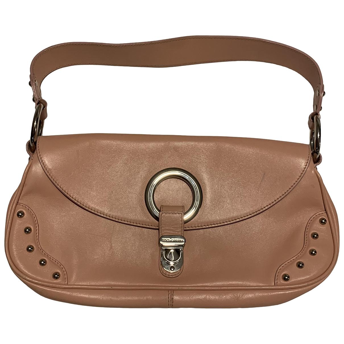 Dolce & Gabbana \N Handtasche in  Rosa Leder