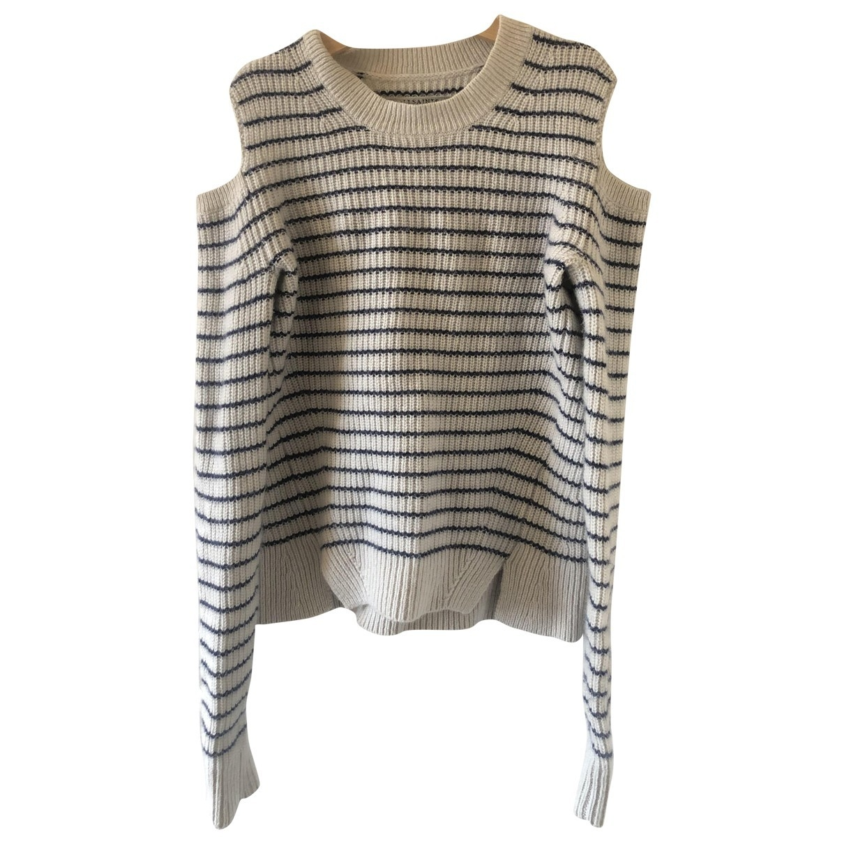 All Saints \N Grey Cotton Knitwear for Women 4 UK