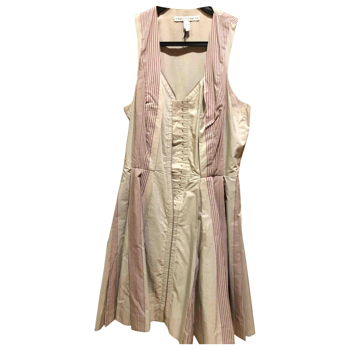 Twenty8twelve By S.miller \N Kleid in  Beige Baumwolle