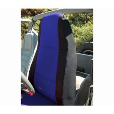 Coverking Neoprene Front Seat Covers (Black/Blue) - SPC163