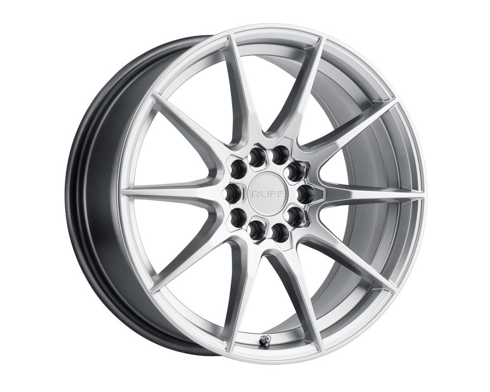 RUFF Speedster Wheel 17x7.5 5x100 38mm Hyper Silver