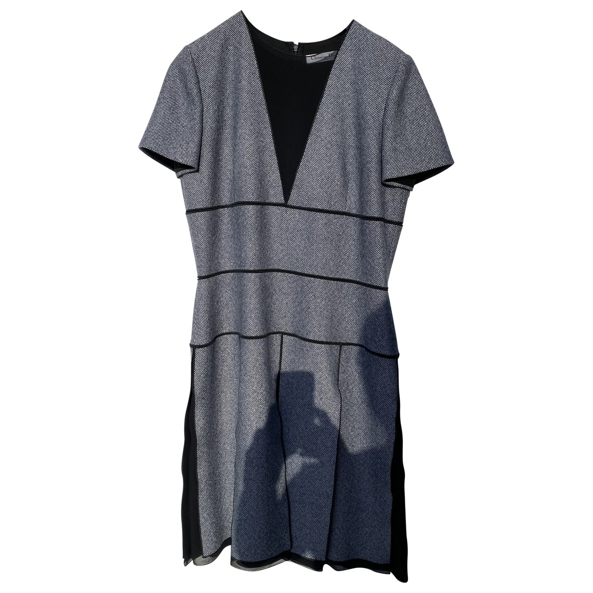 Dior \N Grey Wool dress for Women 42 FR