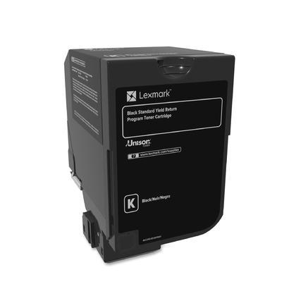 Lexmark 74C1SK0 Original Black Return Program Toner Cartridge