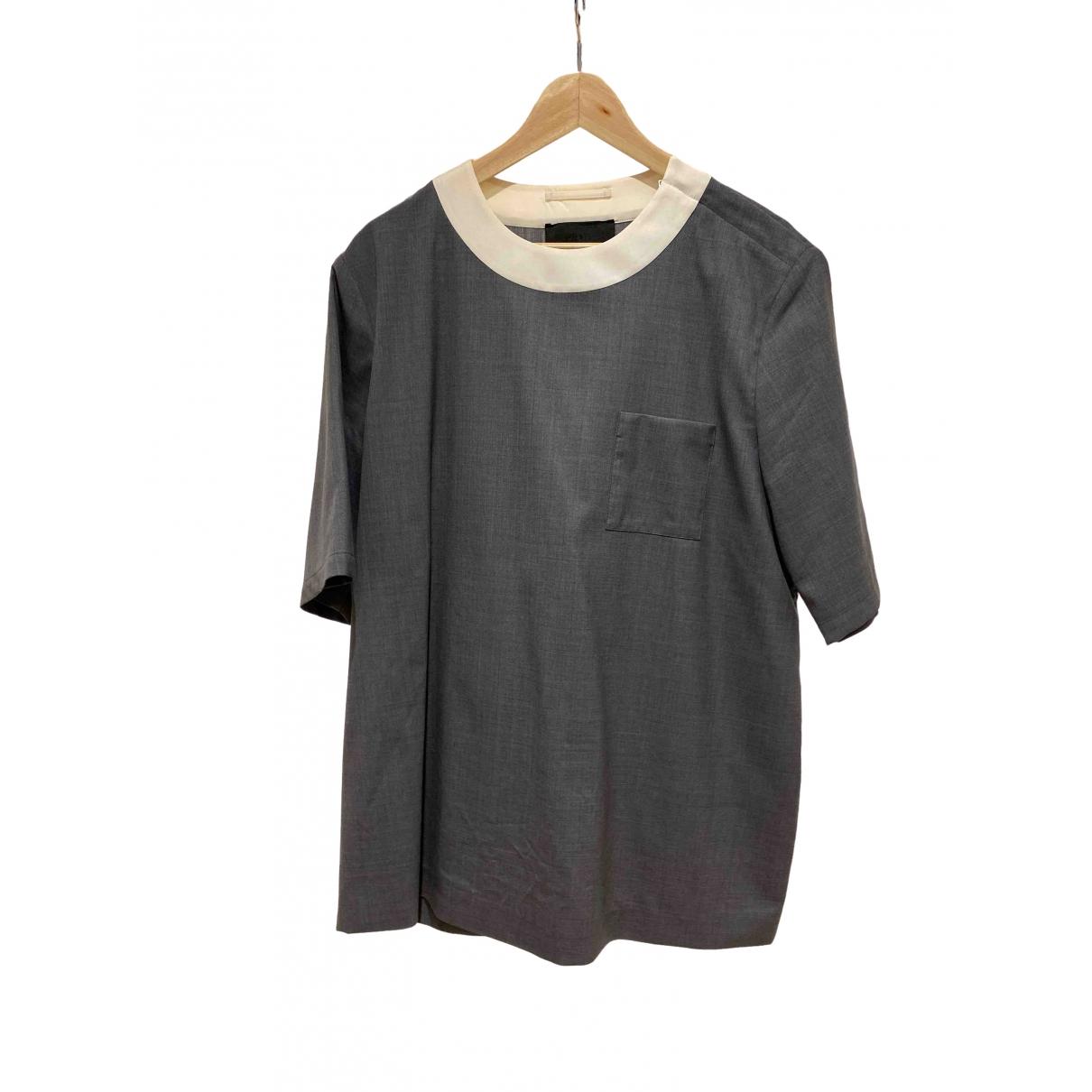 Prada - Tee shirts   pour homme - gris