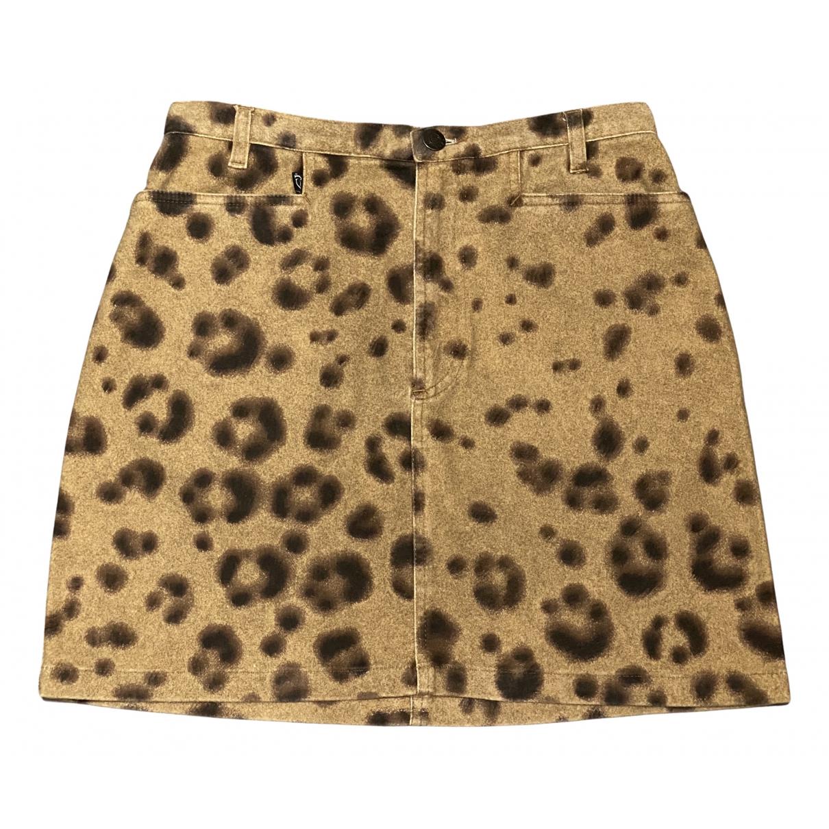 Just Cavalli N Multicolour Cotton skirt for Women 40 IT