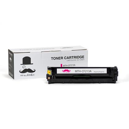 Compatible HP LaserJet Pro 200 Color M276NW Magenta Toner Cartridge - Moustache