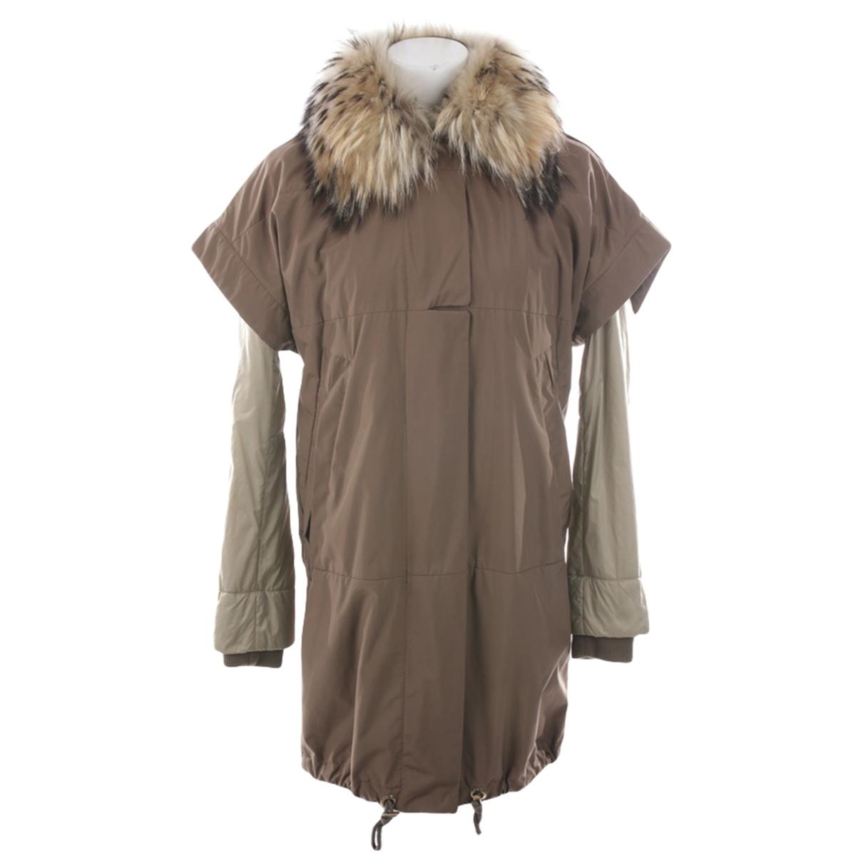 Gucci - Manteau   pour femme - beige