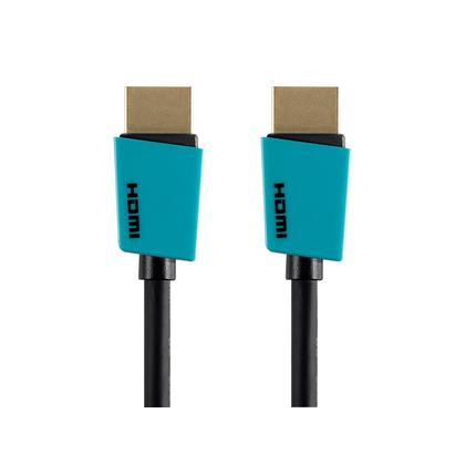 Palette Series High Speed HDMI® Cable Monoprice® - 6pi, Bleu